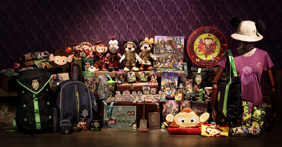 HKDL Merchandise Explains Link Between Old and New